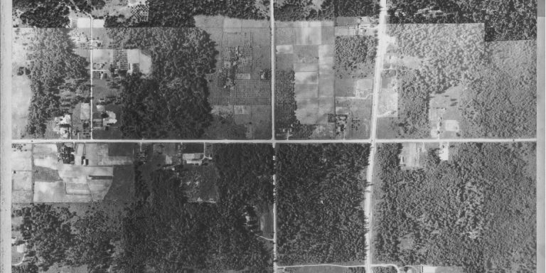 Aerial Photo from 1937